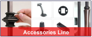 accessories-line (Iron Balusters Canada)