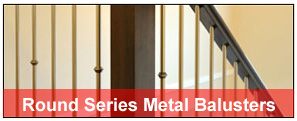 round-metal-balusters (Iron Balusters Canada)